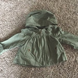 Old Navy army green jacket.